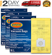 Replacement Vacuum Bags For Kenmore Canister Q 50555, Panasonic Type C-5 27 Pack
