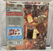 Scrapbook 11x14 Pioneer 100 Pages Victorian Jumbo Family Memory Album Sealed