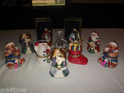 10 Mr Christmas Wind Up Musical Ornaments With 8 Gift Bags Never Displayed