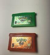 Pokemon Firered And Leaf Green Version Authentic