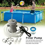 Electric Swimming Pool Filter Pump For Above Ground Cleaning Pool Tool G5t1
