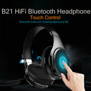 Wireless Bluetooth Stereo Headphones Headset Over-ear Touch Gesture Control