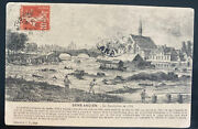 1920 Yonne France Rppc Postcard Cover To Cilicia Turkey French Occupation Wwi