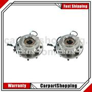 Front Wheel Bearing And Hub Assembly 2x Timken For F-450 Super Duty 2011-2016
