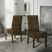 Safavieh Dining Rural Woven St. Thomas Wicker Brown Dining N/a 21.7 X 19.3 X 3