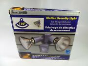 Heath Zenith Motion Activated Twin Flood Security Light, Gray Sl-5408-gr-a