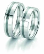 Wedding Rings Breuning Black And White Collection 6131/6132