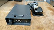 Zetron Series 4000 Telephone Radio Headset Interface Foot Switch And Radio Console