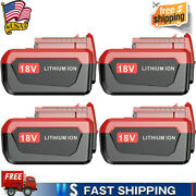 1~4pack 6.0ah Lithium-ion Battery For Porter Cable 18v Max Pc18b Pc18bl Pc18blx