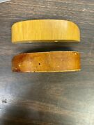 1953 1954 Ford Country Squire Woody Wagon Lhandrh Center Body Pillar Trim Pieces