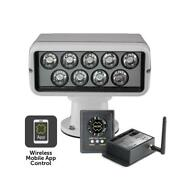 Acr Rcl100 Led Spotlight With Point Pad 12-24v And Wifi Remote White Housing