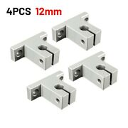 4x 8-16mm Aluminum Linear Bearing Rod Rail Shaft Support Cnc Route Parts Useful