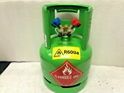 Refrigerant Recovery Tank, R600, Iso-butane, Dot Approved R600a, 7 Lbs. Capacity