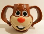 Nestles Quik Bunny Face Mug With 2 Handles – Excellent