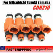 4x Cdh210 Fuel Injectors For Yamaha Outboard 115 Hp Marine Engine Cdh210 2000 Up