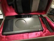 Contax T2 Film Camera Outer Box Inner With Theory