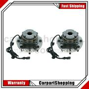 2 Timken Wheel Bearing And Hub Assembly Front For Ford F-350 Super Duty