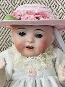 9andrdquo Bisque Head German Doll 199 7/0 Antique Mystery Maker