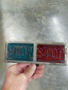 Slow Stop Auto Accessory Tail Light 1920s Rat Rod Motorcycle