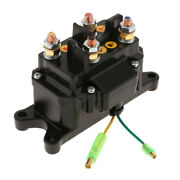 Winch Relay Contactor-12v Dc Contactor Switch Universal Replacement - Black
