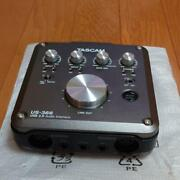 Tascam Teac Us-366 Usb 2.0 Audio Interface 4/6 In Out Dsp Digital Mixer Effects