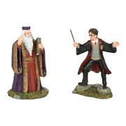 Dept 56 Harry Potter Harry And The Headmaster 6002314 Brand New Free Ship