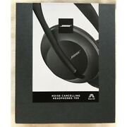 Bose Wireless Noise Cancelling Headphones 700 + Charging Case Eclipse