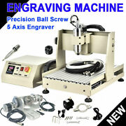 Cnc 3040 5 Axis Usb Router Engraving Mill/drill 3d Cutter Engraver Machine + Rc