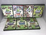 L@@k The Sims 3 Expansion Packs Bundle Game Lot For Pc Free Shipping