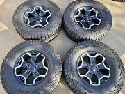 Hol 9237 17 Factory Oem 2020-2021 Jeep Gladiator Rubicon Wheels And Tires 4