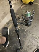 Bass Pro Shops Crappie Max Fishing Reel And Pole Combo