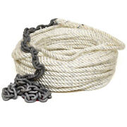 Imtra Boat Anchor Line Spa-i2h6a | W/ Chain Rode 150 Ft X 9/16 Inch