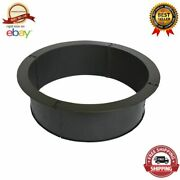 36 Round Heavy Duty Porcelain Coated Steel Fire Pit Ring Outdoor Wood Burning