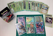 Pokemon Card Lot 45 Cards Sleeves And Deck Box -super Rare See Pics Actual Cards