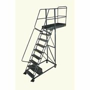 Ballymore Rolling Ladder Overall Height 130 In Steps 9 Cap 300 Lb