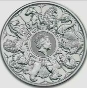 2021 Queenand039s Beasts Completer 2 Oz Silver Coin Bu .9999 - Pre-sale Read