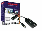 Diamond Bvu5500h Usb To Hdmi 4k2k Video Graphics Adapter With Audio For Multi