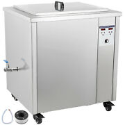 Vevor 130l Ultrasonic Cleaner Industry Jewelry Cleaner Digital Heater W/ Timer