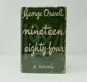 Nineteen Eighty Four George Orwell First Edition 1949 Unrestored Dust Jacket