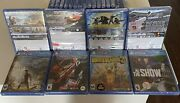 Brand New Sealed🔥ps4 Lot Of 4 Games Assassins Creed Odyssey Need For Speed Hot