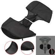 Soft Lowers Chaps Leg Warmer Bag For Harley Touring Ultra Classic Trike 1980-up