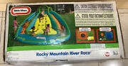 Little Tikes Inflatable Slide Bouncer Rocky Mountain River Race Kids Outdoor Fun