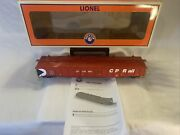 Lionel 6-17459 Canadian Pacific Rail Ps-5 Gondola W Covers Cp O Gauge New