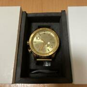 Nixon Gold Watches A057 502 Wristwatch F/s From Jp