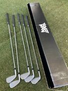 Used Golf Club Pxg Gen3 0311t 6.7.8.9.w 5 Iron Set From Japan