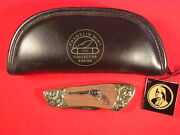 Franklin Mint Collector Pocket Knife - Colt Single Action Army Peacemaker - Mint