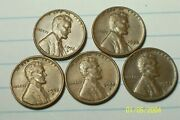 1955/1956--p,d,and,s @ Lincoln Wheat Penny's From Old Rolls