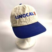 1970s K-products Hat Vintage Blue Trucker's Snapback Unocal 76 - Union Oil And Gas