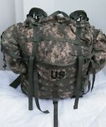 Complete Rucksack Backpack Molle Ii Hiking Camping +2 Extra Sustainment Pouches