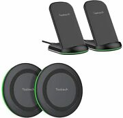 Yootech [4 Pack] Wireless Charger